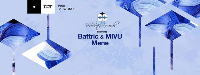 Verbreiten Records Battric & MIVU Mene Dot