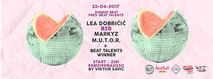 Beat Talents finale Lea Dobričić MarkyZ Sunday Beat