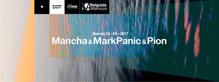 Belgrade Afterhours Mancha MarkPanic Pion Dot