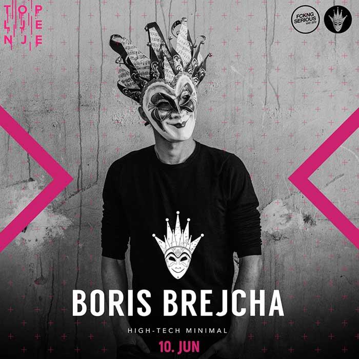Boris Brejcha Topljenje festival Beograd