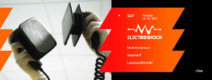 Electroshock Mark Andersson Vladimir T Lukai Milos Ilic Dot