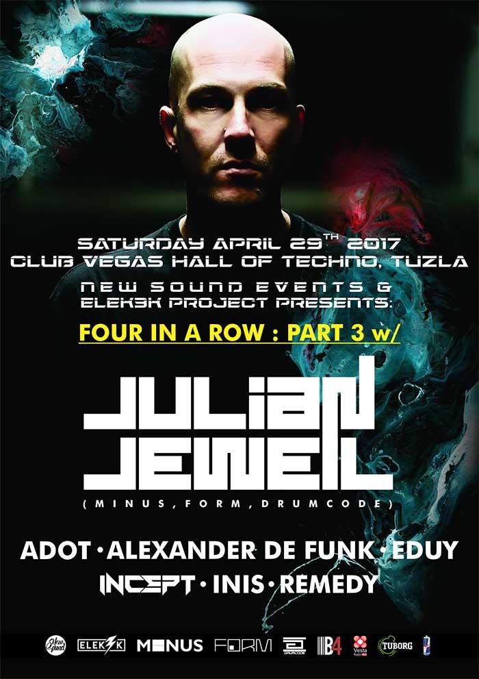 Elek3k Project Julian Jeweil New Sound Club Vegas Tuzla