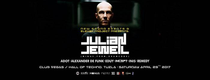 Julian Jeweil New Sound Elek3k Project Club Vegas Tuzla