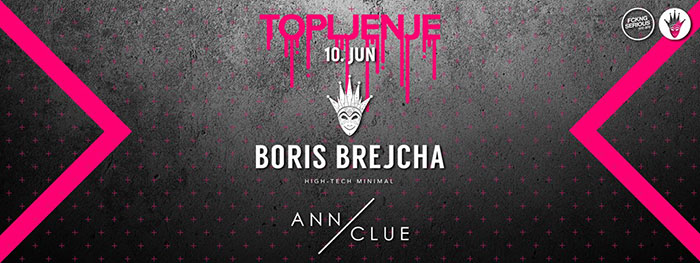 Boris Brejcha Ann Clue Topljenje festival