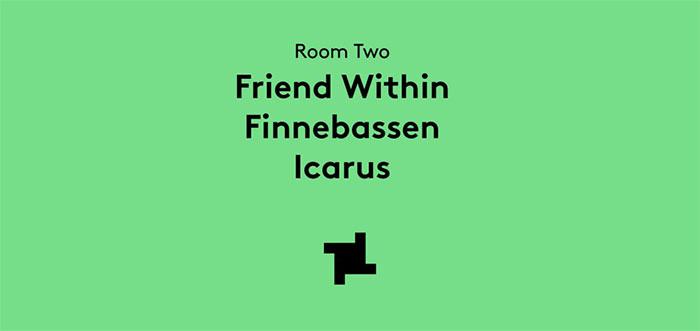 Finnebassen fabric Friend Within Icarus
