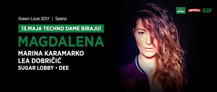 Green Love festival Magdalena Marina Karamarko Lea Dobricic Sugar Lobby Dee Spens