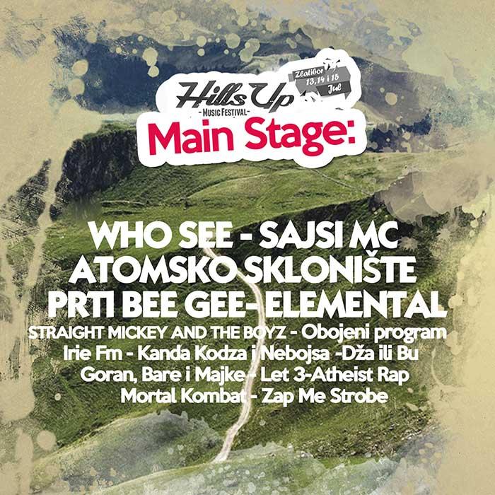 HillsUP festival 2017 Main Stage Zlatibor