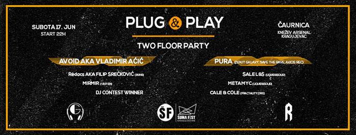 Plug & Play Šumadija Fest Garage Reunion RUHR Čaurnica Knežev Arsenal