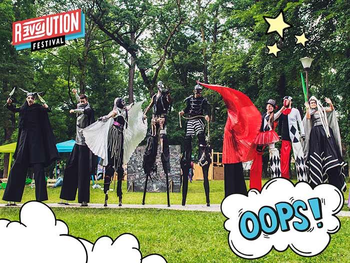 Program Revolution festival