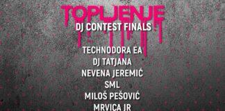 Topljenje festival DJ konkurs finalisti