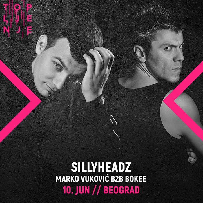 Topljenje festival Sillyheadz Marko Vukovic Bokee