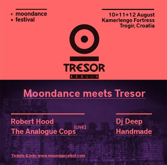 Tresor Berlin Moondance festival