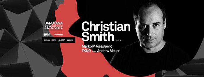 Christian Smith Marko Milosavljevic TKNO Andrew Meller Blender Barutana