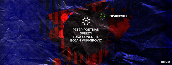 Peter Portman Concrete DJz Speedy Mehanizam