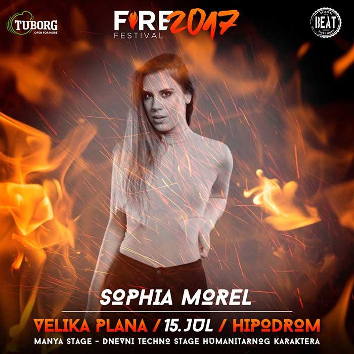 Sophia Morel Fire Fest 2017