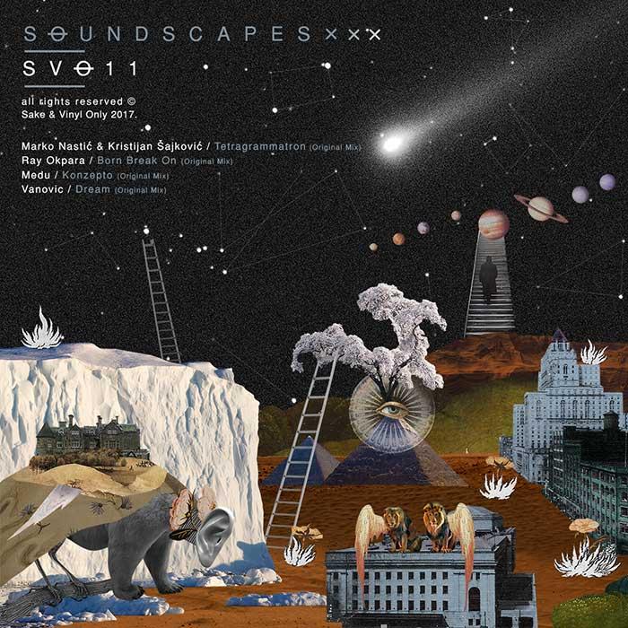 Soundscapes Marko Nastic Kristijan Sajkovic Nemanja Vanovic Medu Ray Okpara Sake & Vinyl Only