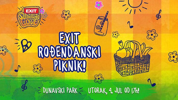 EXIT festival 2017 Leto ljubavi Piknik