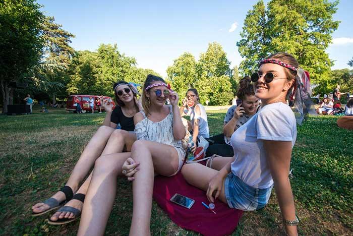 EXIT festival 2017 piknik