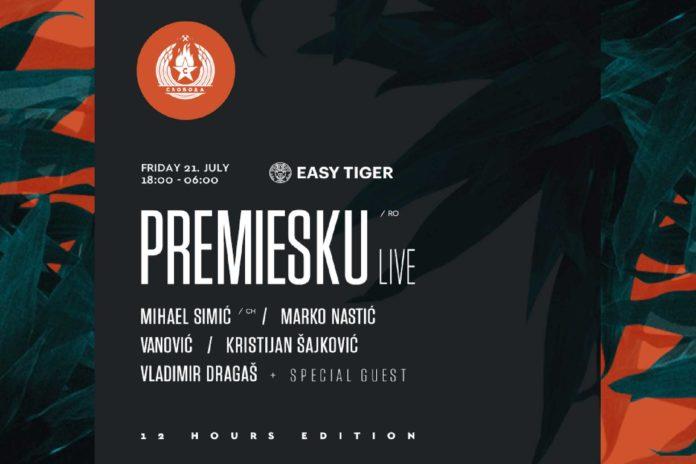 Easy Tiger Premiesku Marko Nastic Disco Splav Sloboda