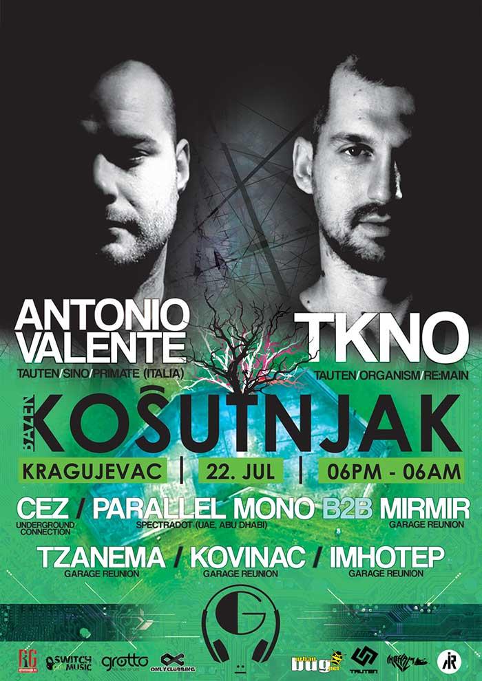 Garage Reunion Antonio Valente TKNO