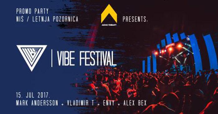 VIBE festival Promo Party Mark Andersson Vladimir T Envy Alex Bex Niska tvrdjava