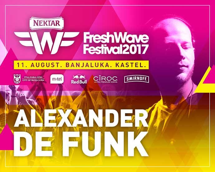 Alexander De Funk Fresh Wave festival