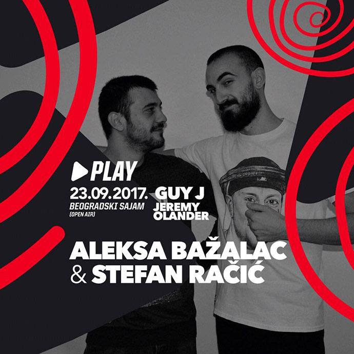 Bazalac Racic Guy J Jeremy Olander Play Beogradski sajam