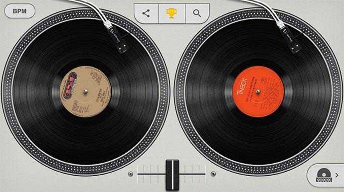 Google Turntables Hip-Hop