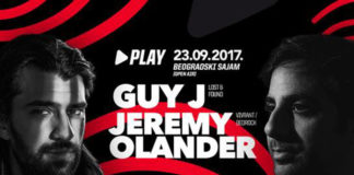 Guy J Jeremy Olander Play Beogradski sajam