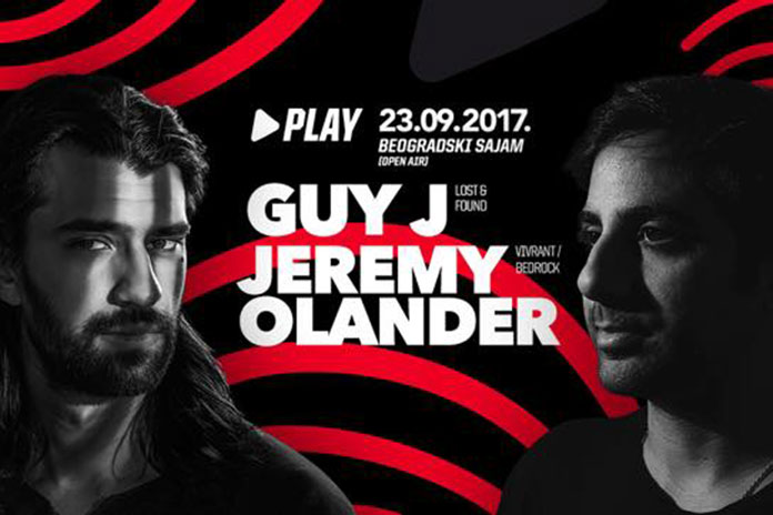 Guy J Jeremy Olander Play Beogradski sajam