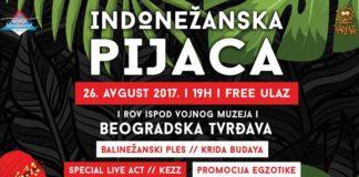 Indonezanska pijaca Bali Wonderland Kalemegdan Summer festival program