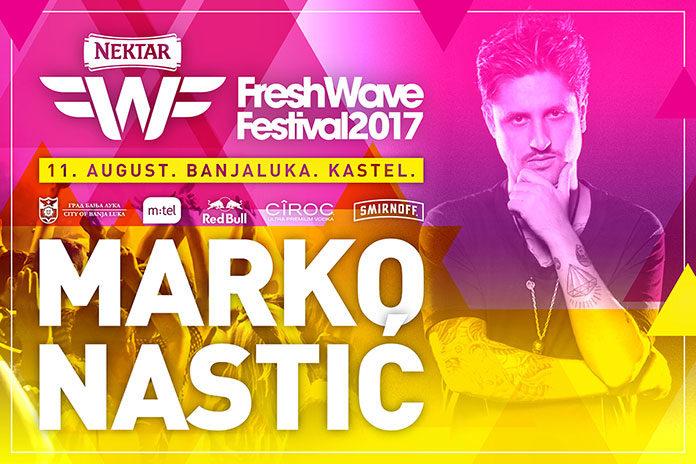 Marko Nastic Fresh Wave festival