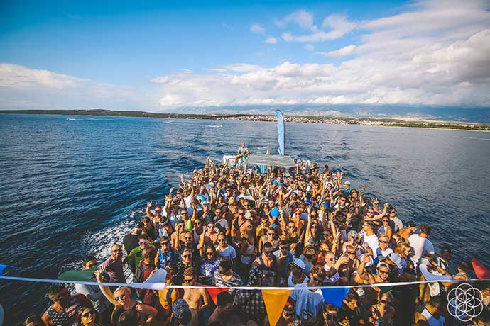 Sonus festival Boat Party