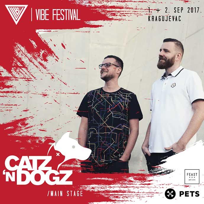 VIBE festival 2017 Catz N Dogz