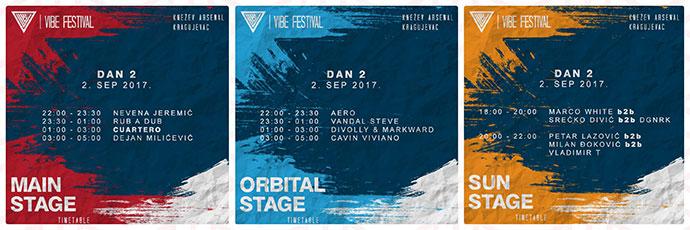 VIBE festival 2017 satnica Dan drugi