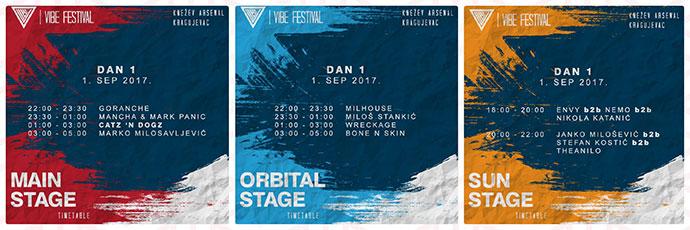 VIBE festival 2017 satnica Dan prvi