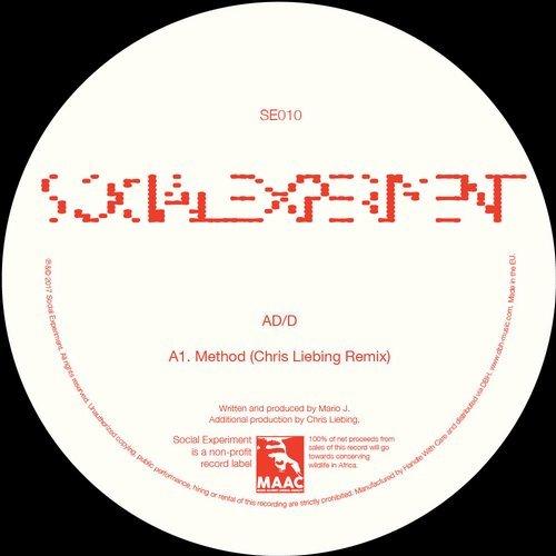 AD D Method Chris Liebing Social Experiment Records