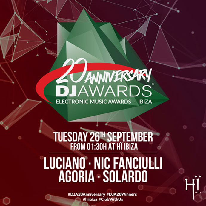 DJ Awards 2017 Party Hi Ibiza