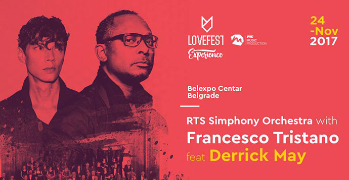 Lovefest Experience Francesco Tristano Derrick May BelExpo Centar