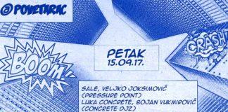 Pressure Point Concrete DJz Povetarac