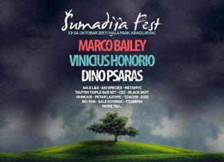 Sumadija Fest 2017 Kragujevac izvodjaci