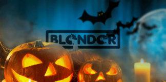 Blender Halloween