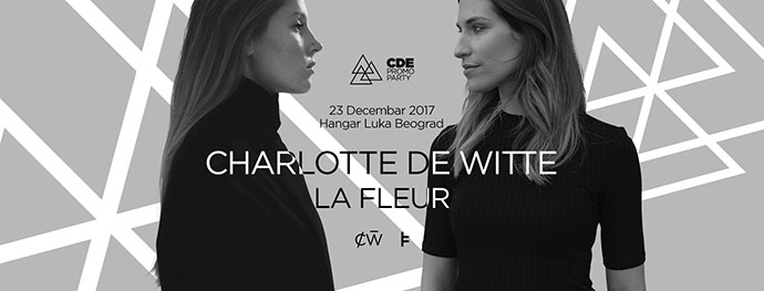 Central Dance Event Charlotte de Witte La Fleur Hangar