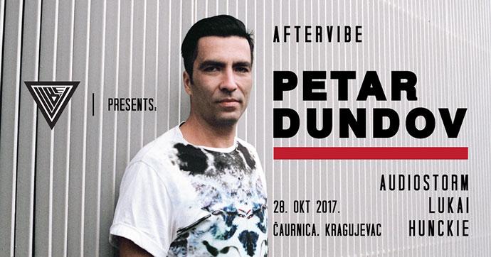 Petar Dundov afterVIBE AudioStorm Lukai Hunckie Caurnica Knezev Arsenal Kragujevac