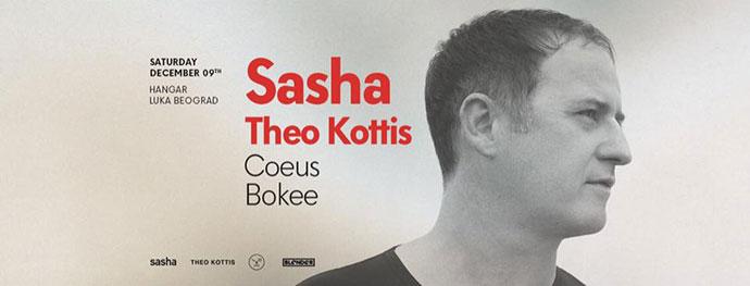 Sasha Theo Kottis Coeus Bokee Blender Hangar