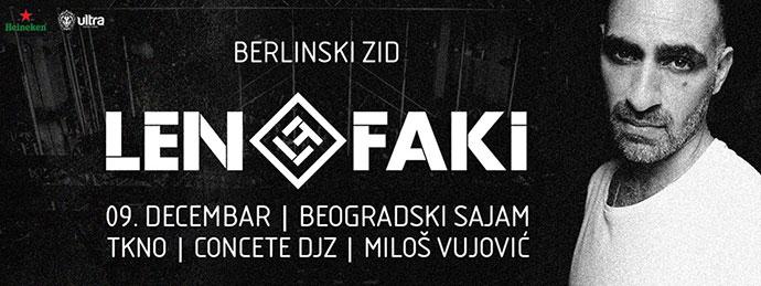 Berlinski Zid Len Faki TKNO Concrete DJz Milos Vujovic