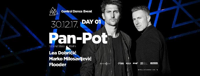 Central Dance Event 2018 Pan Pot Lea Dobricic Marko Milosavljevic Flooder Hangar