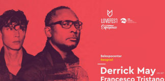 Lovefest Experience Derrick May Francesco Tristano BelExpo centar