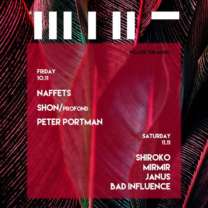 Naffets Shon Peter Portman Shiroko Bad Influence Mint