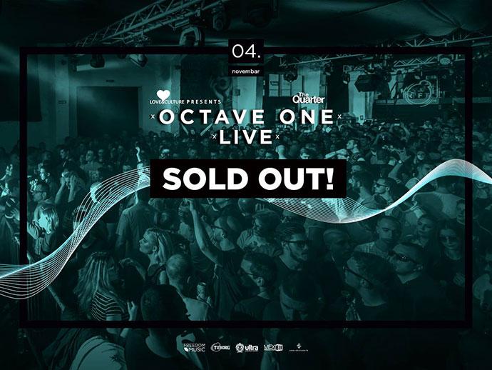 Review Octave One Live Sold Out The Quarter Novi Sad recenzija